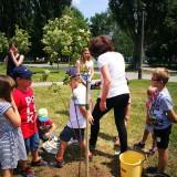Robimy tlen-drzewa dla Krakowa, zajęcia edukacyjne