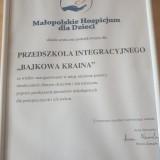 Bajkowa Kraina pomaga dzieciom z Małopolskiego Hospicjum dla Dzieci